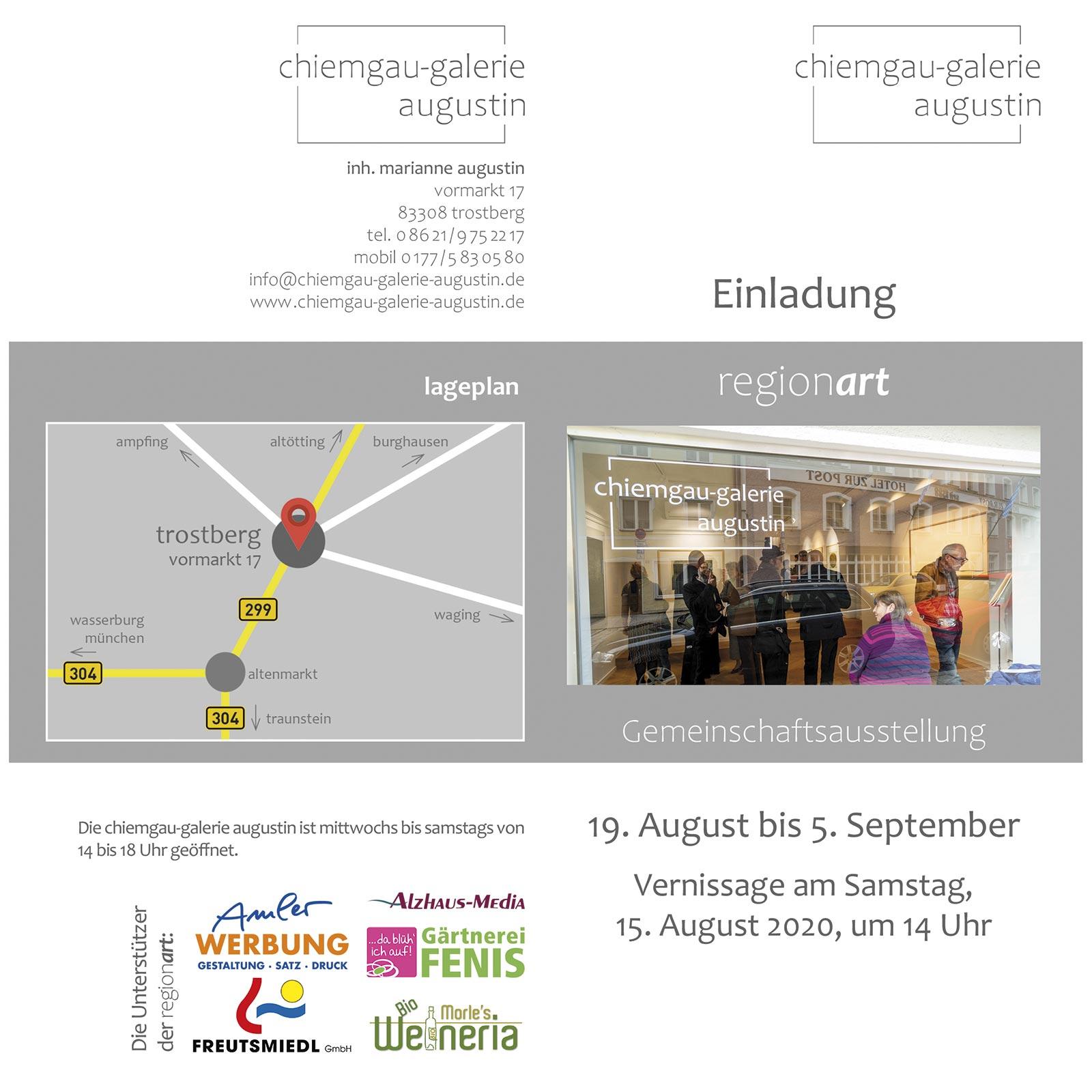 chiemgau-galerie augustin | Gruppenausstellung | Barbara Back