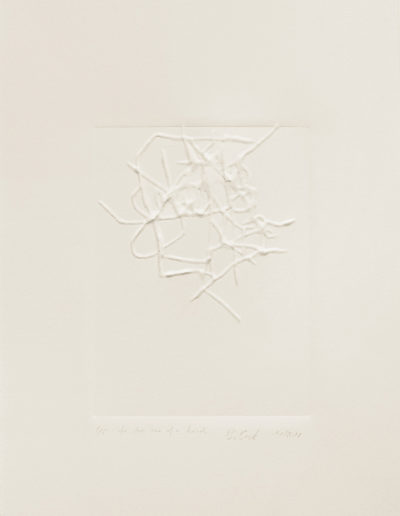 to-be-one-of-a-kind | embossing | 2019 | Barbara Back